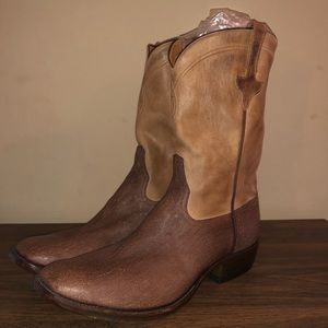 Wild boar Rios of Mercedes hand made cowboy boots